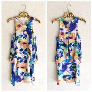 Philosophy Floral Chiffon Dress